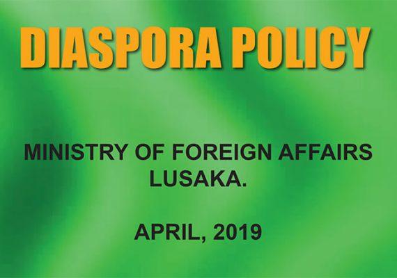 Zambian Diaspora Policy Update